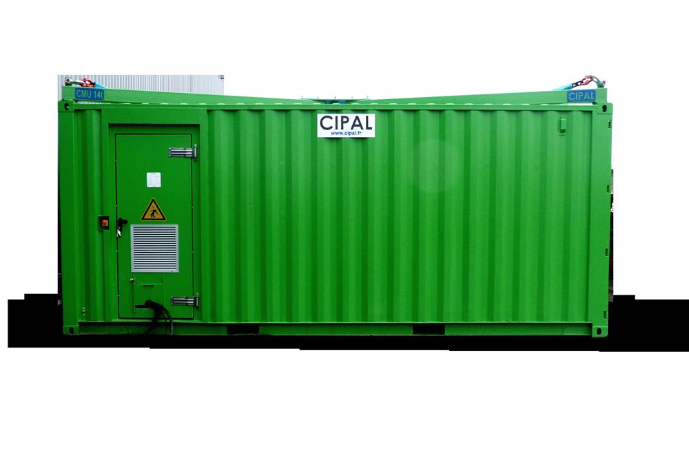 Unité mobile d'énergie