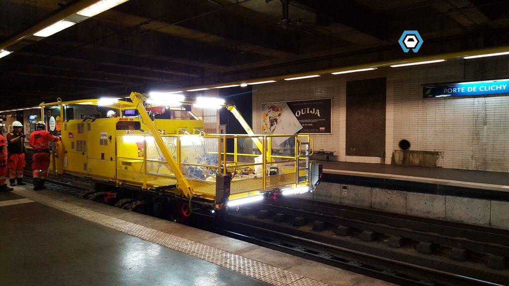 Rapace Logistique Tunnel